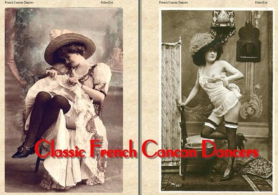 Product picture Classic French Cancan Dancers - An Ebook Photo Album!