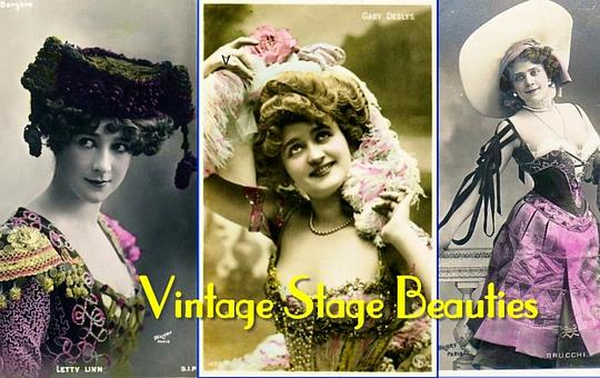 Product picture Vintage Stage Beauties (PDF Photo Album)
