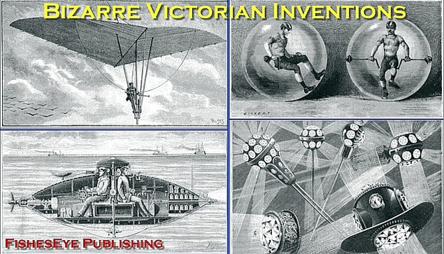 Product picture Bizarre Victorian Inventions - PDF Scrapbook / Slideshow