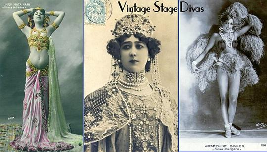 Product picture Vintage Stage Divas - Early Photo Portraits (PDF ebook / slideshow)