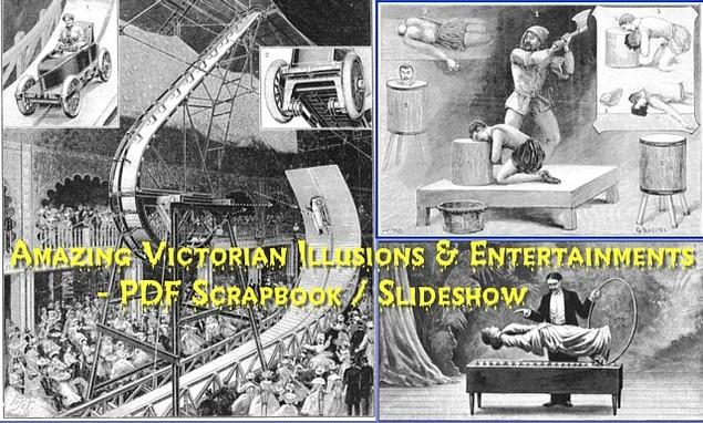 Product picture Amazing Victorian Illusions & Entertainments - PDF Scrapbook / Slideshow