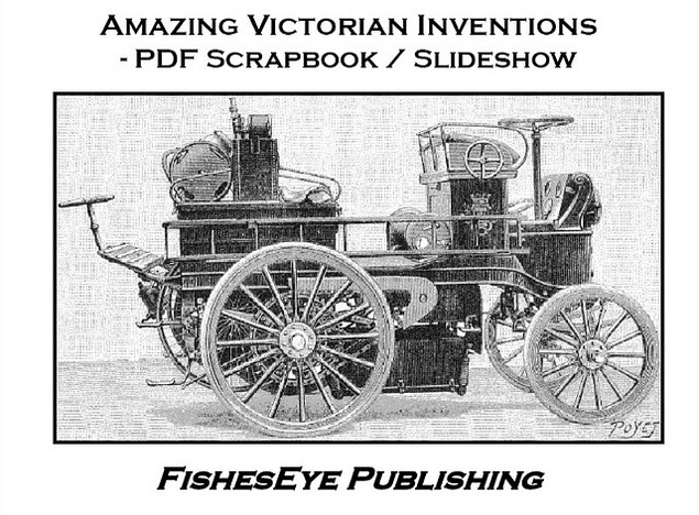Product picture Amazing Victorian Inventions - PDF Scrapbook / Slideshow