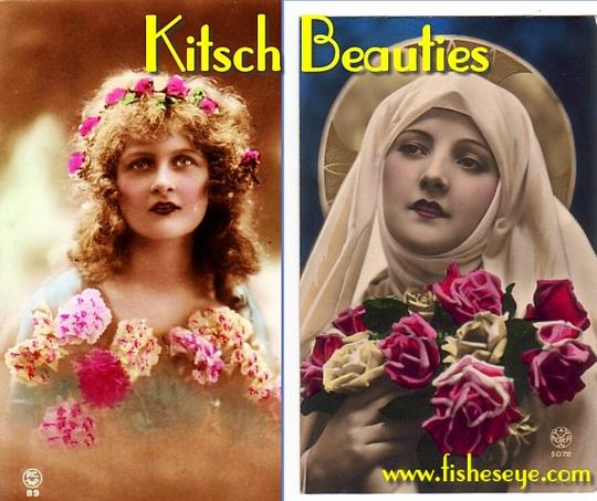 Product picture Kitsch Beauties - Vintage Photo Album (PDF ebook & slideshow)
