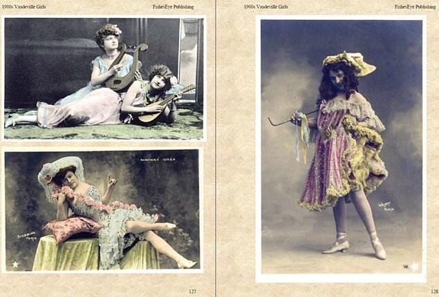 Product picture 1900s Vaudeville Girls - Vintage Photo Portraits